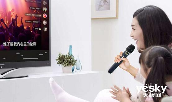 疫情期间麦霸太无奈 ?智能电视+专业K歌话筒开启全新家庭K歌方式