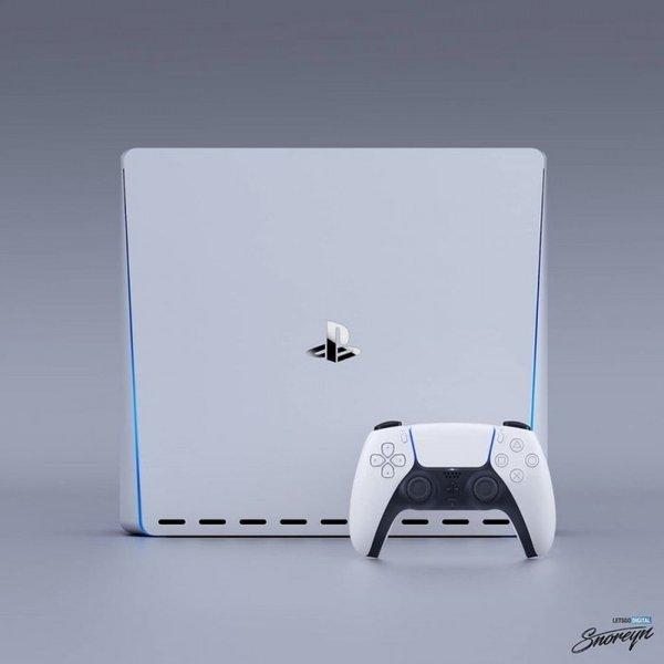 意大利设计师公布PlayStation 5游戏主机渲染图
