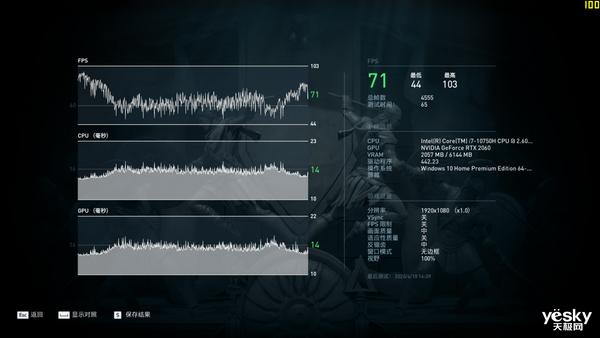 10款游戏实测 雷神911绝地武士实力诠释畅快体验