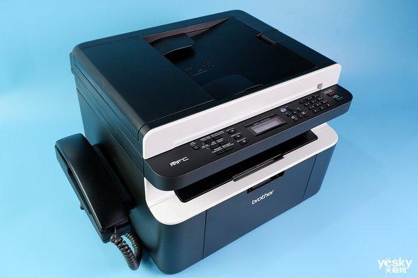 简单易用低成本,Brother MFC-1919NW黑白激光一体机测评