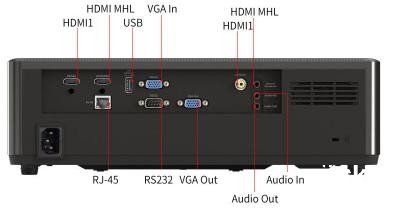奥图码ZH66投影仪高清高流明投影机29999元送150寸ALIKESI高清幕布