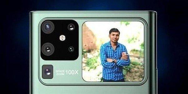 设计大胆!华为Mate40全新渲染图曝光:五摄相机+副屏