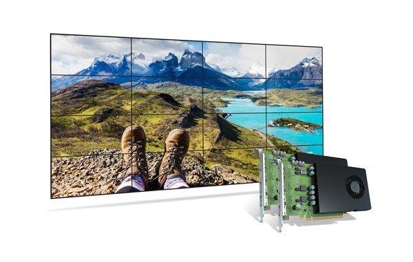 Matrox D系列多屏卡上市:最多可16屏输出