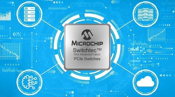 Microchip推出基于PCIe 4.0的Switchtec PAX交换芯片