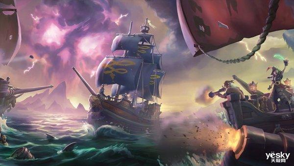 圆你海盗梦?《盗贼之海》上架Steam,值得轻品的海贼游戏