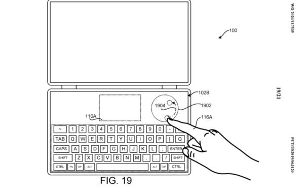 微软新专利曝光 双屏笔记本Surface Neo交互升级
