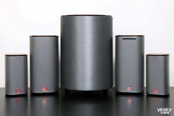 5.1声道无线家庭影院 酷开MAX3音箱