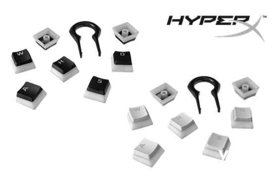 HyperX发布第二代Pudding Keycaps布丁游戏键帽