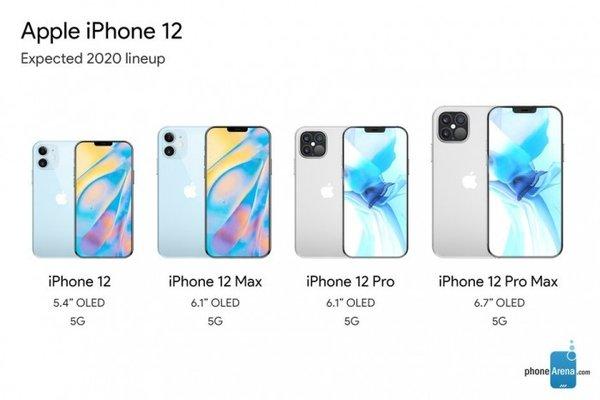 T-Mobile官网曝光四款iPhone 12命名