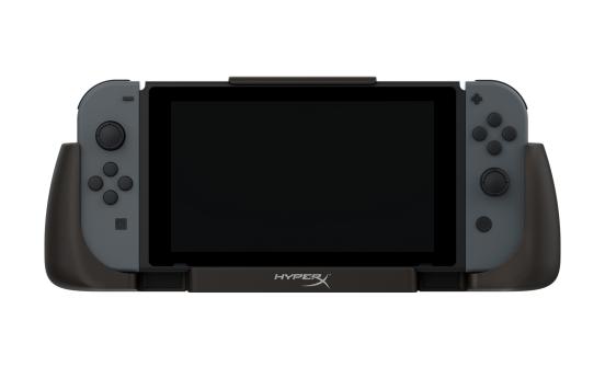 畅玩Switch不断电 HyperX发布ChargePlay Clutch聚能便携充电手柄