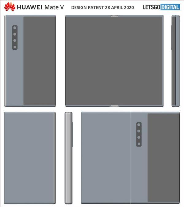 华为Mate V?翻盖折叠屏手机外形出炉 定价1.7万仍然亏损
