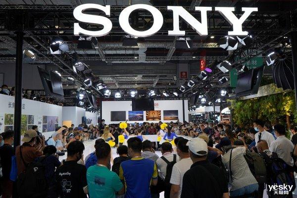 2020 P&I索尼展台 新品即发即体验