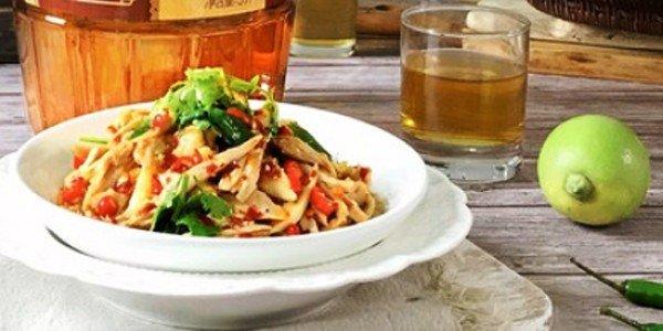 极客美食:香辣开胃―凉拌鸡丝