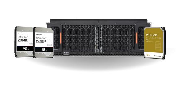 西部数据以领先的大容量企业级HDD技术,为广泛的数据中心解决方案产品线添砖加瓦