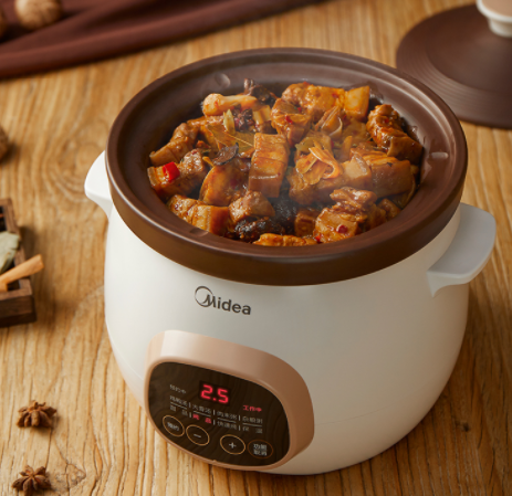 营养浓汤 如约而至 美的Midea全自动智能炖锅DG30E203