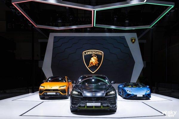 2020北京车展:兰博基尼Urus全新哑光漆特别版全球首发