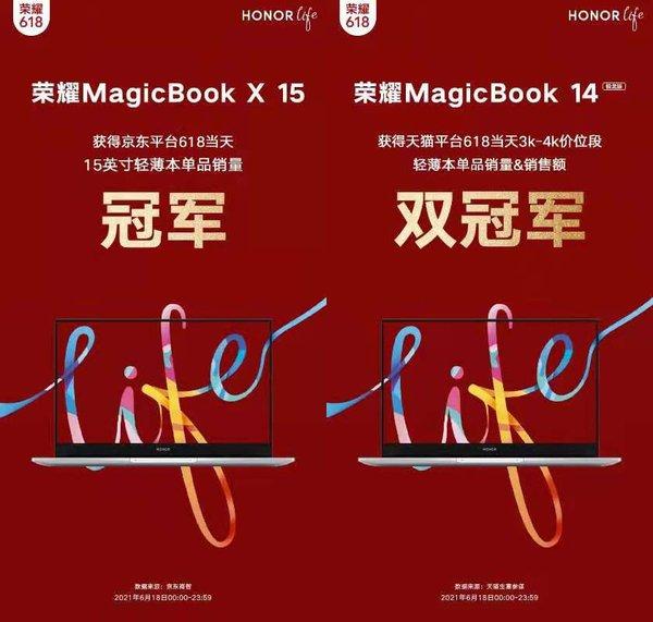 618大促荣耀MagicBook创佳绩:荣耀全场景战略显优势