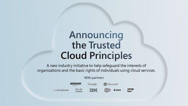 为保护云数据安全 亚马逊/微软等公司发布一项新倡议