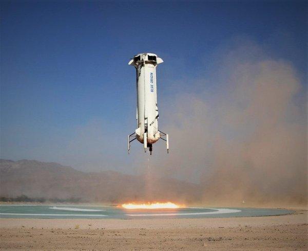 因强风天气,贝索斯旗下蓝色起源推迟发射NS-18