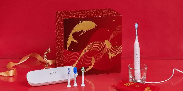 """飞利浦Sonicare新年锦鲤装礼盒:做幸运女神,选新年""""锦鲤"""""""
