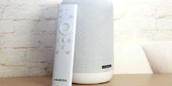 海美迪小白盒 一款时尚家庭必备的AI视听机器人