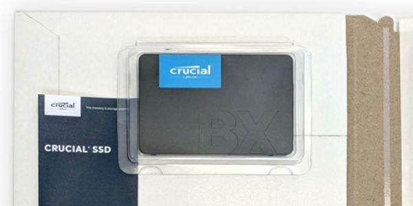 英睿达悄然更新960G版BX500固态硬盘
