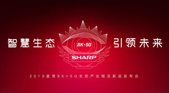 2019夏普8K+5G生态产业链及新品发布会直播