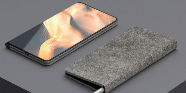 微软折叠手机渲染图 Surface Note双折概念