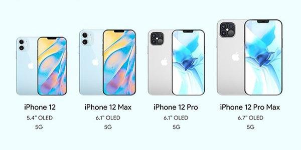 苹果四款iPhone 12售价配置齐曝光!5nm  A14处理器或已大规模出货