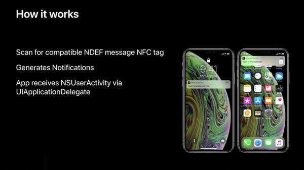 开发者:iPhone XS/XR NFC功能,未启动App也能扫描NFC标签