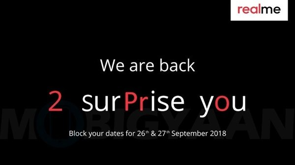 延续火爆势头!OPPO Realme2 Pro将于9月27日正式发布