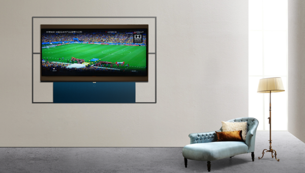XESS浮窗全场景TV很好地诠释了黑科技  智能音响也能有大屏