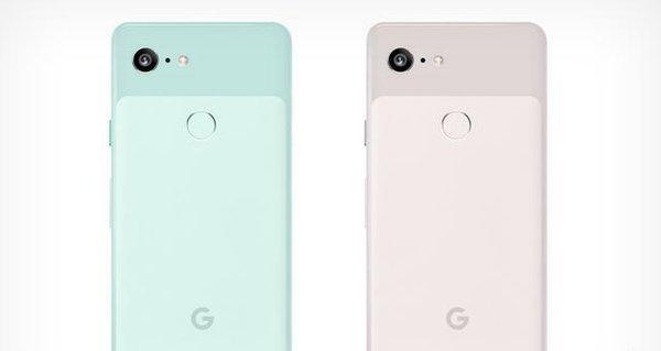 主打小清新?谷歌Pixel3将配备薄荷绿和淡粉色