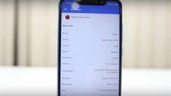 红米Note6 Pro登录国外网购平台:搭载骁龙636,售价约1300元