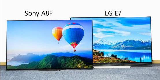 最强OLED电视之争 索尼A8F力压LG E7