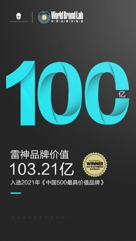 雷神荣获世界品牌实验室百亿价值品牌,电竞生态发展大有可为