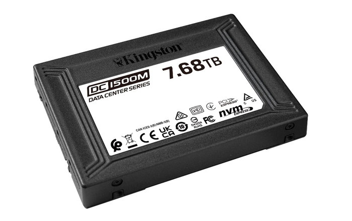 金士顿发布DC1500M数据中心U.2 NVMe固态硬盘