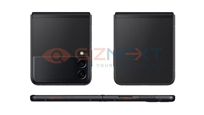 三星Galaxy Z Flip 3新渲染图曝光,或将于8月11日发布