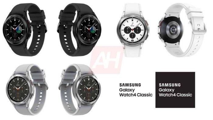 三星Galaxy Watch 4 Classic渲染�D曝光,�鹘y手表�O��L格
