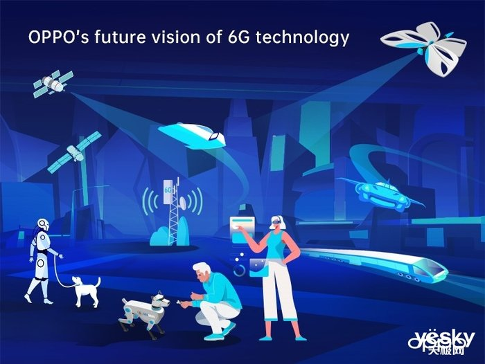 OPPO首部6G白皮书发布 展望人工智能与通信互融未来