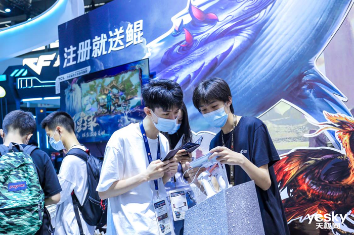 ChinaJoy2021如期开幕 腾讯游戏展区邀请你连接未来