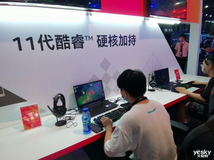 惠普光影精灵7亮相ChinaJoy,高颜值16.1英寸大屏游戏本