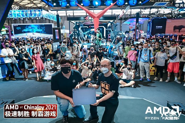 ChinaJoy 2021:AMD联想携手发布拯救者R9000X 2021R游戏本
