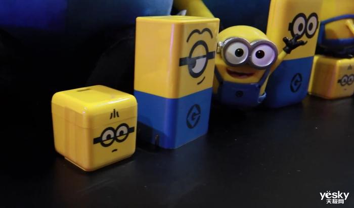 努比亚小黄人充电器亮相ChinaJoy 2021