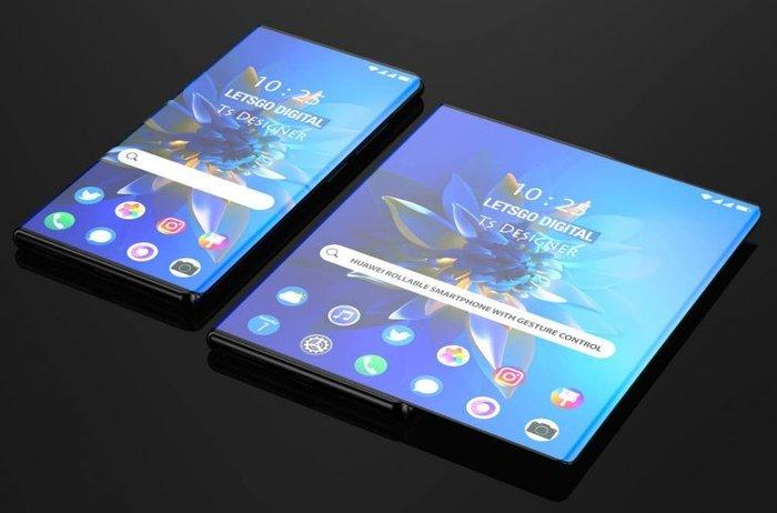 华为全新设计手机专利曝光!环绕屏手机可通过手势控制伸缩