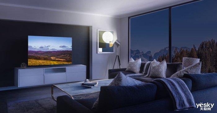 四面无边框全面屏 创维OLED电视S82详细介绍