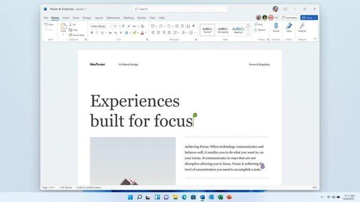 微软Office 2021将随Win 11到来 售价149.99美元起
