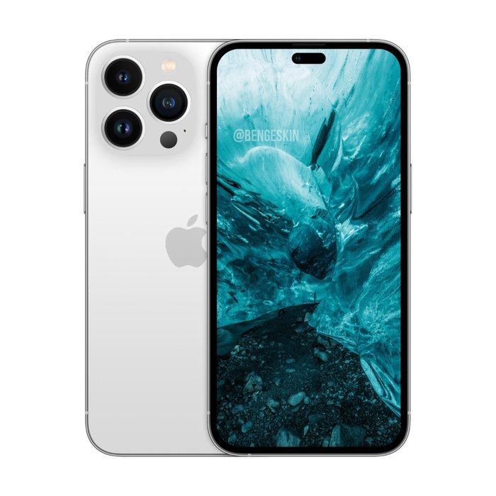 """中置圆孔还是""""药丸""""?iPhone 14 Pro又曝新渲染图"""