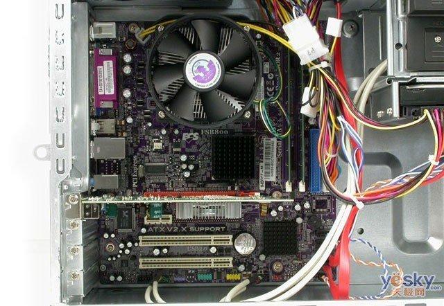 海尔宏天磊台式家用电脑