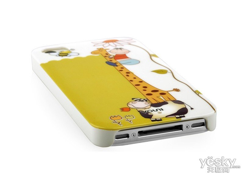 沃尤尼iPhone 炫彩背壳(金色童年)保护背壳